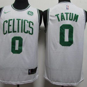 NBA Nike Boston Celtics Tatum Jersey 0# White